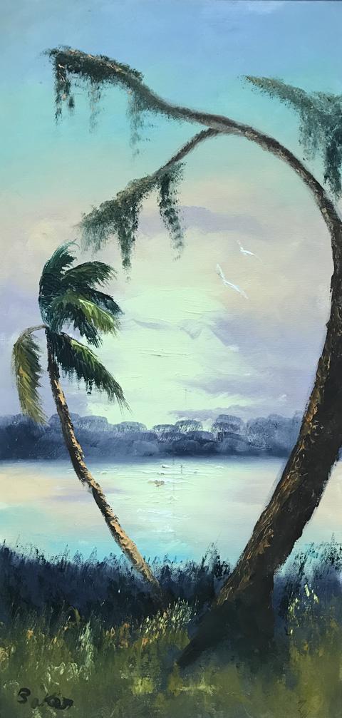 H. Baker Oil on Canvas