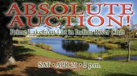 Lakefront Lot Auction