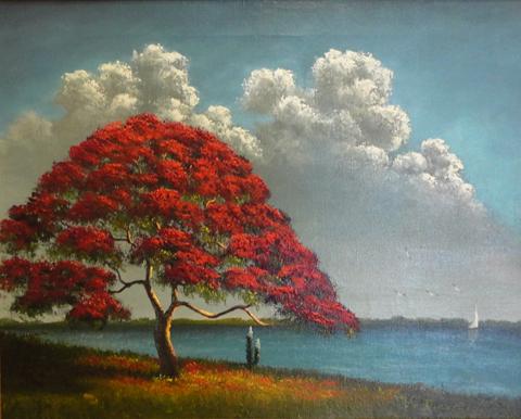 Ellis Buckner Oil on Canvas