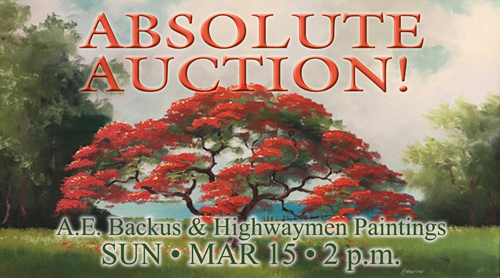 A.E. Backus and Highwaymen Paintings