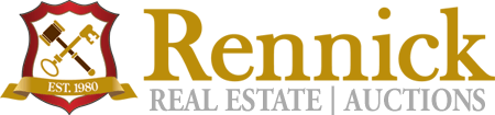 Rennick Auctions Real Estate logo