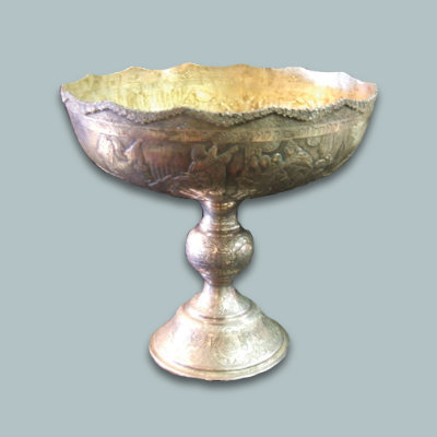 Russian Silver Footed Centerpiece