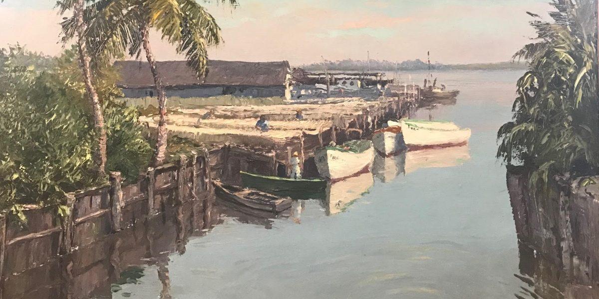 AE Backus painting