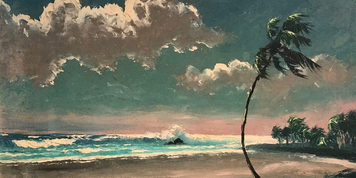 Harold Newton painting