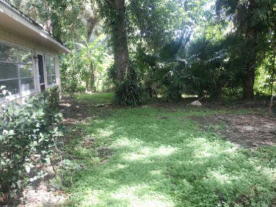 auction home backyard